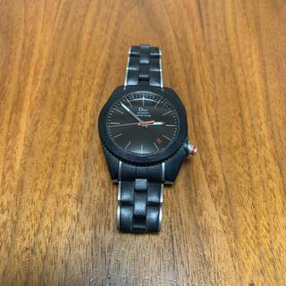 ディオールオム(DIOR HOMME)のディオールオム シフルルージュ ブラックタイム  時計 ウオッチ (腕時計(アナログ))