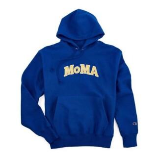 MOMA - 【限定コラボXL】Champion×MoMAチャンピオン×モマ★パーカーブルー