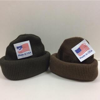 ロスコ(ROTHCO)のロスコ ニット帽 オリーブ &コヨーテ  2個SET(ニット帽/ビーニー)
