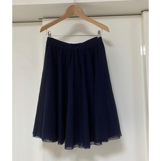 エムプルミエ(M-premier)のM-PREMIER チュールスカート36サイズ エムプルミエ(ひざ丈スカート)