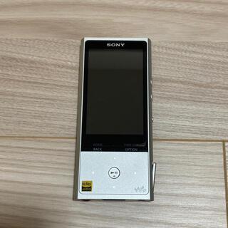 ウォークマン(WALKMAN)のソニー ウォークマン ZXシリーズ 128GB NW-ZX100 シルバー(ポータブルプレーヤー)