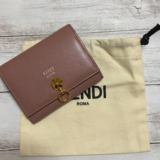 フェンディ(FENDI)の値下げ【保存袋付き】FENDI 8M0217 6gm カードケース兼 名刺入れ(名刺入れ/定期入れ)