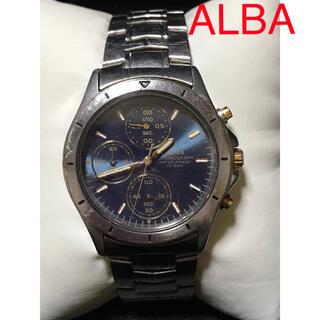 アルバ(ALBA)のSEIKO セイコー ALBA CHRONOGRAPH ジャンク品(腕時計(アナログ))