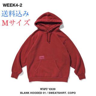 ダブルタップス(W)taps)のWTAPS BLANK HOODED 01 SWEATSHIRT COPO M(パーカー)