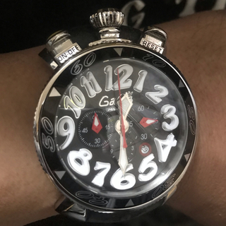 ガガミラノ(GaGa MILANO)のガガミラノクロノグラフ(腕時計(アナログ))