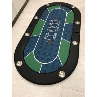 ポーカーテーブル テーブルトップ 二つ折り 脚なし 送料込み!(トランプ/UNO)