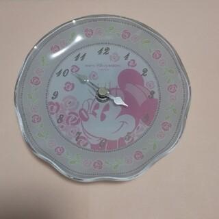 ディズニー(Disney)のディズニーリゾート🌸ディズニーランド ミニー 壁掛時計 置時計(掛時計/柱時計)
