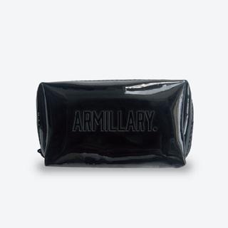 トリプルエー(AAA)のアーミラリ Armillary.  ポーチ 黒 ノベルティ(ポーチ)