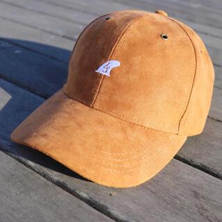 ベイフロー(BAYFLOW)の人気モデル☆LUSSO SURF スウェード刺繍キャップ 帽子 RVCA(キャップ)