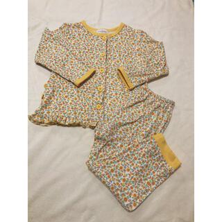 ampersand - アンパサンド  花柄パジャマ