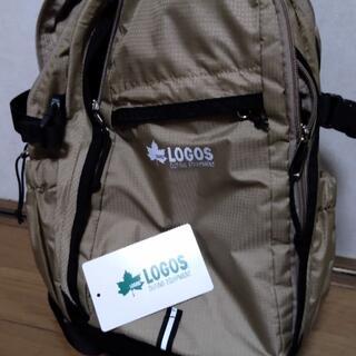 ロゴス(LOGOS)のLOGOS ロゴス ディパック  15L    79-50 ベージュ(バッグパック/リュック)