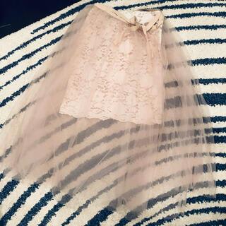 アクアガール(aquagirl)のアクアガール チュールドレススカート(ロングスカート)