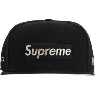 シュプリーム(Supreme)のsupreme $1M Metallic Box Logo New Era(キャップ)