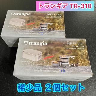 プリムス(PRIMUS)の【稀少品】trangia トランギア メスティン レッド TR-310 新品2個(調理器具)