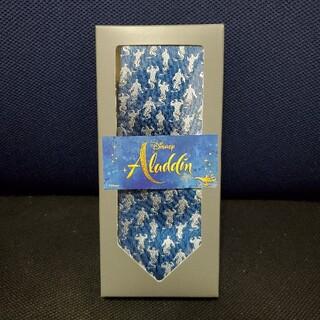 ディズニー(Disney)の【新品箱付】Disney Aladdin アラジン ジーニー ブルー ネクタイ(ネクタイ)