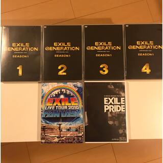 エグザイル トライブ(EXILE TRIBE)の期間限定‼︎ DVD6枚セット(ミュージック)