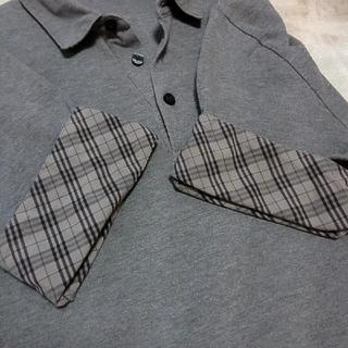 バーバリーブラックレーベル(BURBERRY BLACK LABEL)の🖤バーバリーブラックレーベル🖤デザインポロシャツ🖤(ポロシャツ)