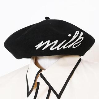 ミルク(MILK)の♡めろち様 専用♡(ハンチング/ベレー帽)