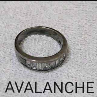 AVALANCHE ジュエリーリング BLACK silver