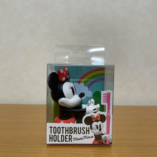 ディズニー(Disney)のDisney Collection  ハブラシホルダー ミニーちゃん(歯ブラシ/歯みがき用品)