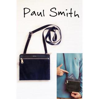 Paul Smith - ★ポールスミス★トラベルストライプポケット ショルダーバッグ 財布サコッシュ