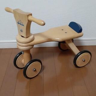 ボーネルンド(BorneLund)のボーネルンド木製バイク(三輪車)