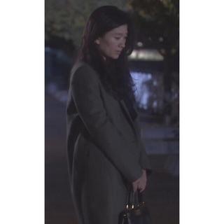 アイシービー(ICB)のICB  新品 篠原涼子ドラマ着用 チェスターコート  2  カーキ系(チェスターコート)