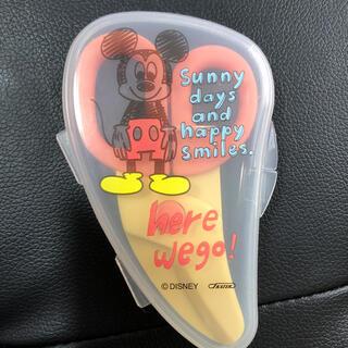 ディズニー(Disney)の麺用カッター はさみ ミッキー(離乳食調理器具)