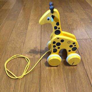 ブリオ(BRIO)のBRIO プルトイ キリン(知育玩具)