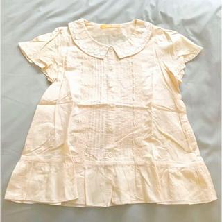 フィント(F i.n.t)のFi.n.t 花レースフリルブラウス(シャツ/ブラウス(半袖/袖なし))