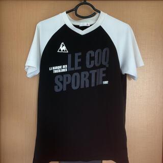 ルコックスポルティフ(le coq sportif)のTシャツ ルコック スポルティフ Mサイズ(Sサイズ表示)(Tシャツ/カットソー(半袖/袖なし))