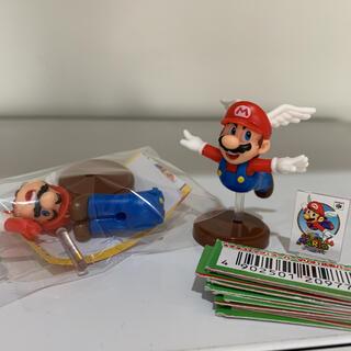スーパーマリオ マリオ チョコエッグ & バーコード12枚(キャラクターグッズ)