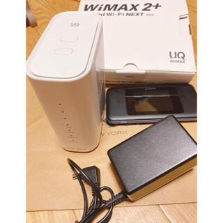 ファーウェイ(HUAWEI)のWiMAX HOME02&WiMAX2+ポケットWi-Fi HUAWEI W06(PC周辺機器)