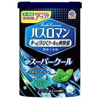 600G × 3点バスロマン スーパークールタイプ  3個セット(入浴剤/バスソルト)