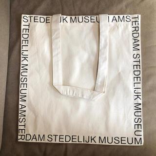 ヤエカ(YAECA)のアムステルダム市立美術館オリジナルエコバッグ トートバッグ (3)(エコバッグ)
