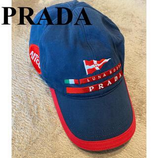 プラダ(PRADA)のPRADA LUNA ROSSA キャップ(キャップ)