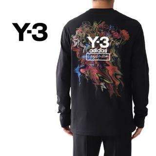 ワイスリー(Y-3)の【完売品!定価23100円!】Y3 Y-3 TOKETA プリントロングTシャツ(Tシャツ/カットソー(七分/長袖))