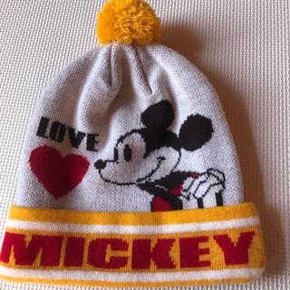 ディズニー(Disney)のミッキーマウス ニット帽(ニット帽/ビーニー)