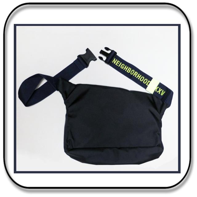 NEIGHBORHOOD(ネイバーフッド)のネイバーフッド xポーター  ナイロン ショルダーバッグ  ネイビー/リフレクト メンズのバッグ(ショルダーバッグ)の商品写真