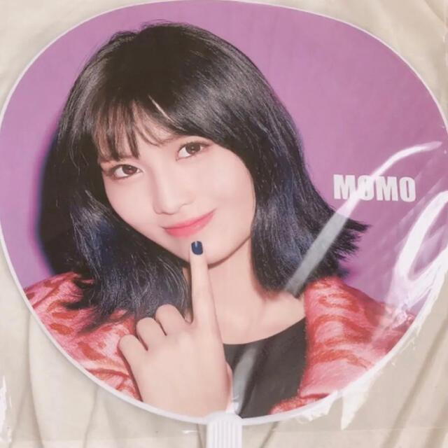 Waste(twice)(ウェストトゥワイス)のTWICE モモ うちわ OMT エンタメ/ホビーのCD(K-POP/アジア)の商品写真