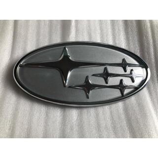 スバル(スバル)のスバル 六連星 エンブレム 塗装品 silver(車外アクセサリ)