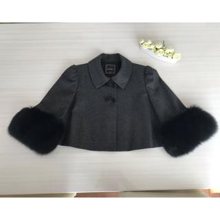 フォクシー(FOXEY)のFOXEYブティック ふわふわショートジャケット コート(毛皮/ファーコート)