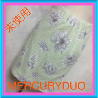 マーキュリーデュオ(MERCURYDUO)のタグ付き♡フラワースカート♡お買い得(ミニスカート)