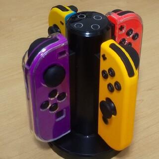 ニンテンドースイッチ(Nintendo Switch)のNintendo Switch ジョイコン4台+充電器(その他)