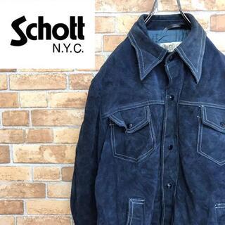 ショット(schott)の【RANCHER】70〜80s ショット schott スエードレザージャケット(レザージャケット)