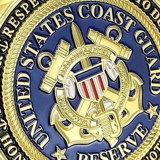 【非売品・記念品】アメリカ合衆国海上保安庁のチャレンジコイン(その他)