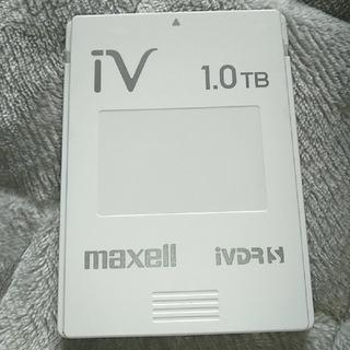 マクセル(maxell)のあるぱかんさん専用 マクセル IVDR-S  1TB 2個(その他)