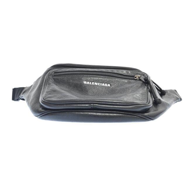Balenciaga(バレンシアガ)のBALENCIAGA バレンシアガ エクスプローラー フロントロゴレザー メンズのバッグ(ボディーバッグ)の商品写真