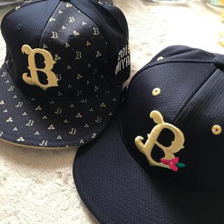 デサント(DESCENTE)のオリックスバファローズ 2019年 2020年 宮崎キャンプ 帽子 キャップ(記念品/関連グッズ)
