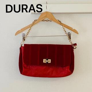 デュラス(DURAS)のDURAS (デュラス) / フェイクスエード2ウェイバック(ハンドバッグ)